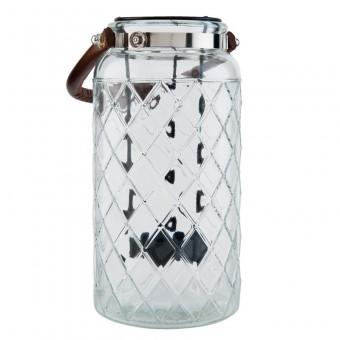 Windlicht Glas Trellis Groot