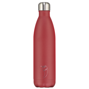 Chilly's Bottle Matte Red 750ml