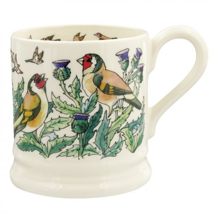 Half Pint Mug Goldfinches
