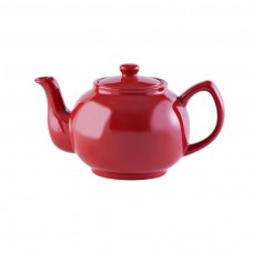 Theepot 6 cup Bright Red