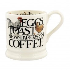 Half Pint Mug Rise & Shine Eggs & Toast