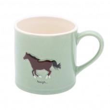 Bailey Mug 250ml Horse Green