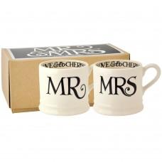Baby Mug Mr & Mrs (set)