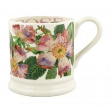 Half Pint Mug Flowers Dog Rose 2021