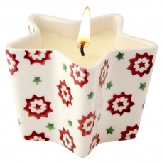 Star Candle Christmas Joy