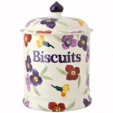 Biscuits Jar Wallflower 2 Pint