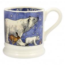 Half Pint Mug Winter Animals 2017
