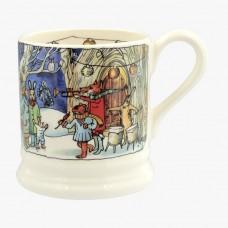 Half Pint Mug Winter Scene 2018